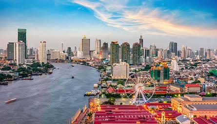 Asiatique Bangkok near Holiday Inn Bangkok silom